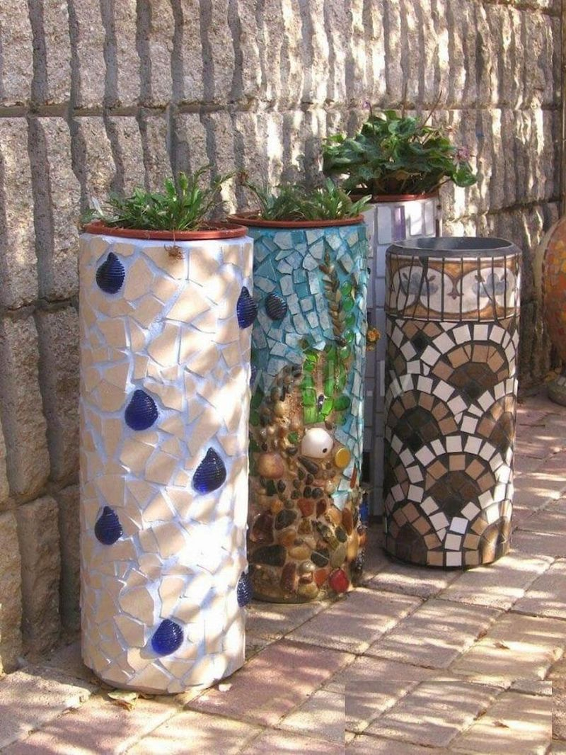 Adorable diy mosaic craft ideas to beautify your home decoration 35