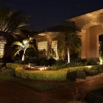 Adorable front yard lighting ideas for your summer night vibe 34