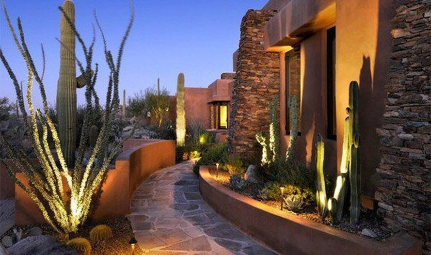 Adorable front yard lighting ideas for your summer night vibe 40