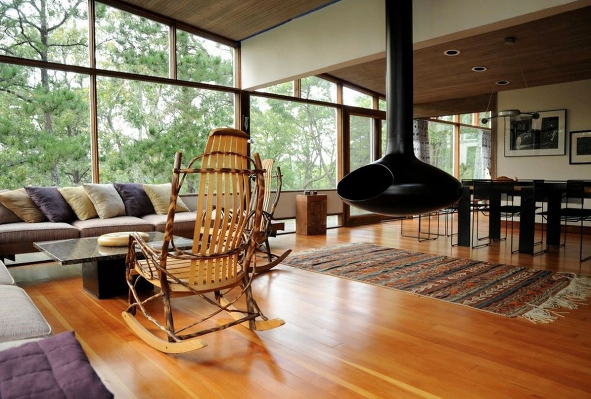 An exciting nature element furniture with wooden chairs furniture for your dream house