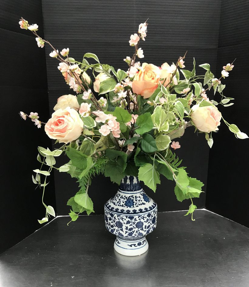 Diy glass flower vase with boho pattern to create beauty for room
