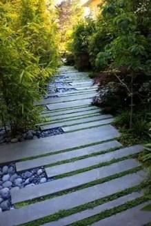 On budget garden walk path ideas for an easy movement around the garden 01