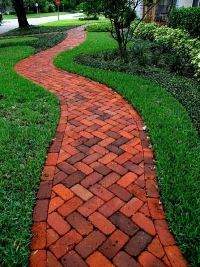 On budget garden walk path ideas for an easy movement around the garden 07