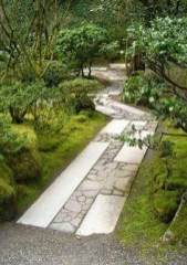 On budget garden walk path ideas for an easy movement around the garden 10