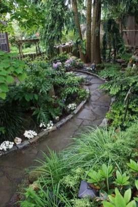 On budget garden walk path ideas for an easy movement around the garden 17