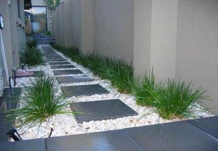 On budget garden walk path ideas for an easy movement around the garden 24