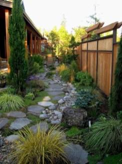 On budget garden walk path ideas for an easy movement around the garden 28