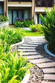 On budget garden walk path ideas for an easy movement around the garden 30