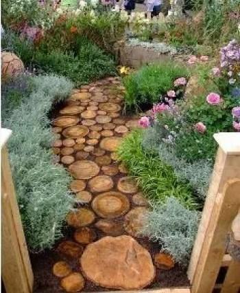 On budget garden walk path ideas for an easy movement around the garden 34
