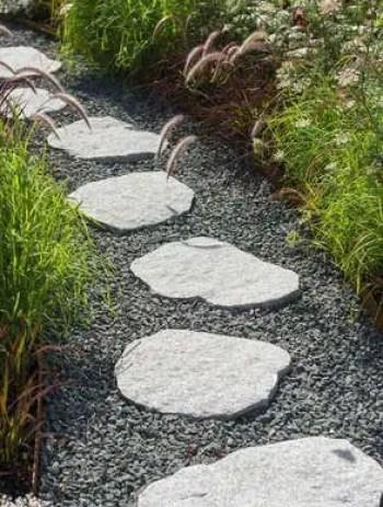On budget garden walk path ideas for an easy movement around the garden 37