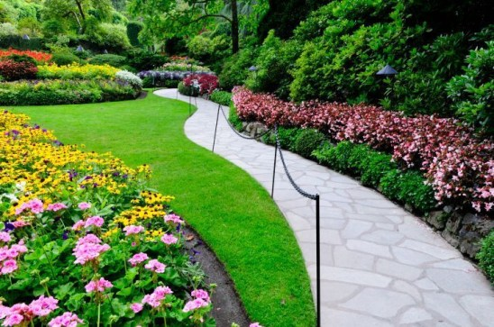 On budget garden walk path ideas for an easy movement around the garden 52