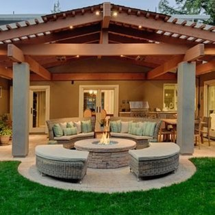 Simple patio design ideas to really enjoy your outdoor relaxing moment 07