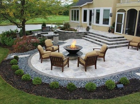 Simple patio design ideas to really enjoy your outdoor relaxing moment 21