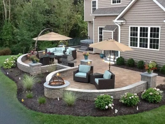 Simple patio design ideas to really enjoy your outdoor relaxing moment 45