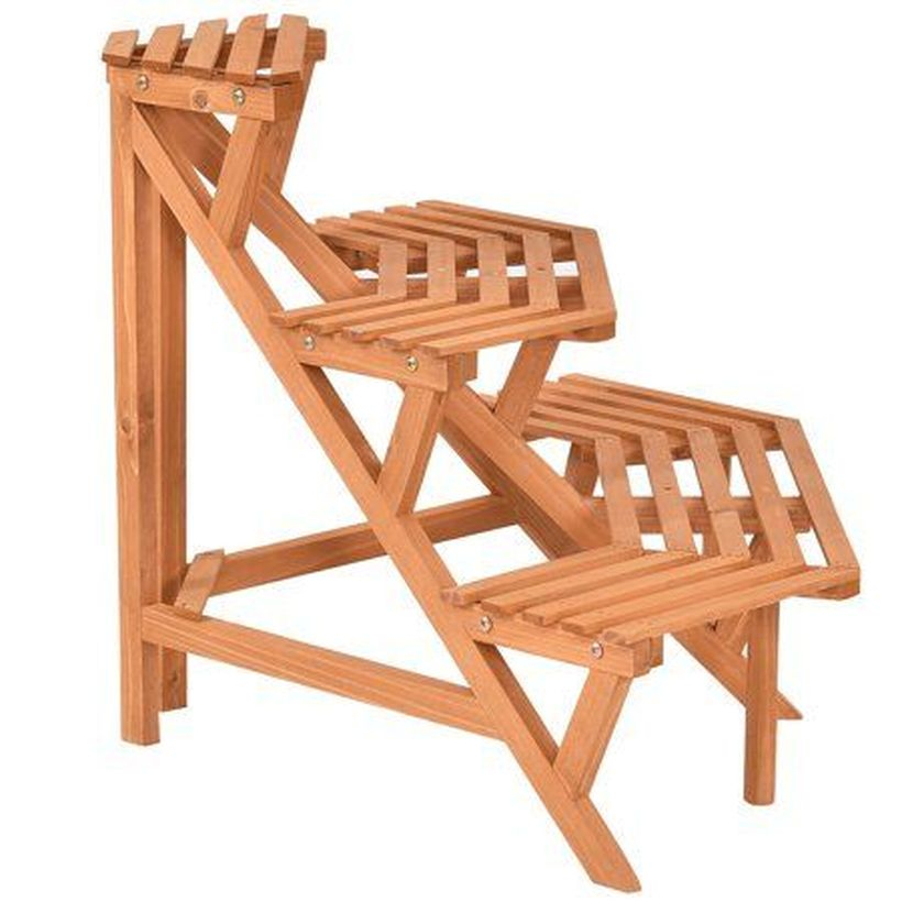Wooden rack ideas to be applied into any home styles for a warmer room impression 10