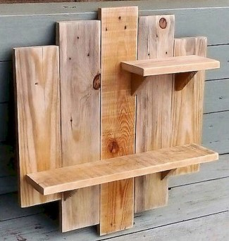 Wooden rack ideas to be applied into any home styles for a warmer room impression 18