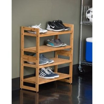Wooden rack ideas to be applied into any home styles for a warmer room impression 30