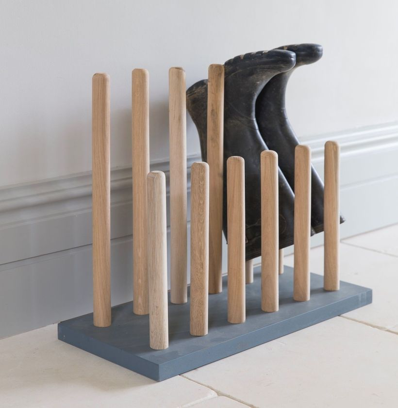 Wooden rack ideas to be applied into any home styles for a warmer room impression 34