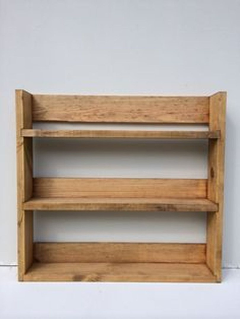 Wooden rack ideas to be applied into any home styles for a warmer room impression 50