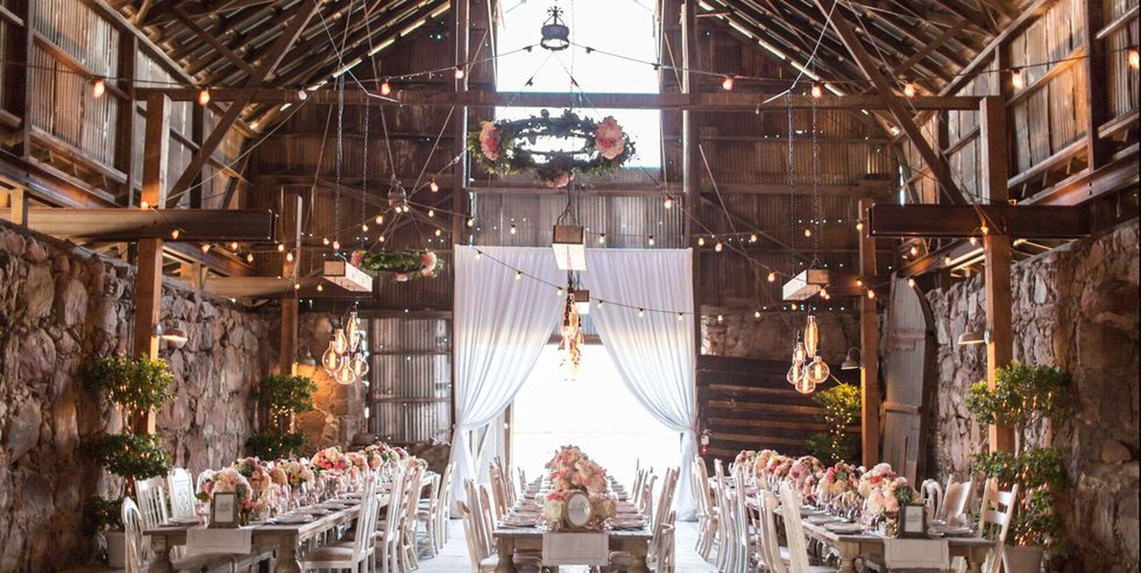 A beautiful outdoor venue for fall wedding venues with santa margarita ranch is the perfect outdoor oasis for a natural autumn wedding.