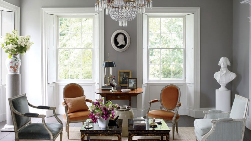 A fabulous home paint colors with an elegant gray manages to be a striking and popular choice for your room