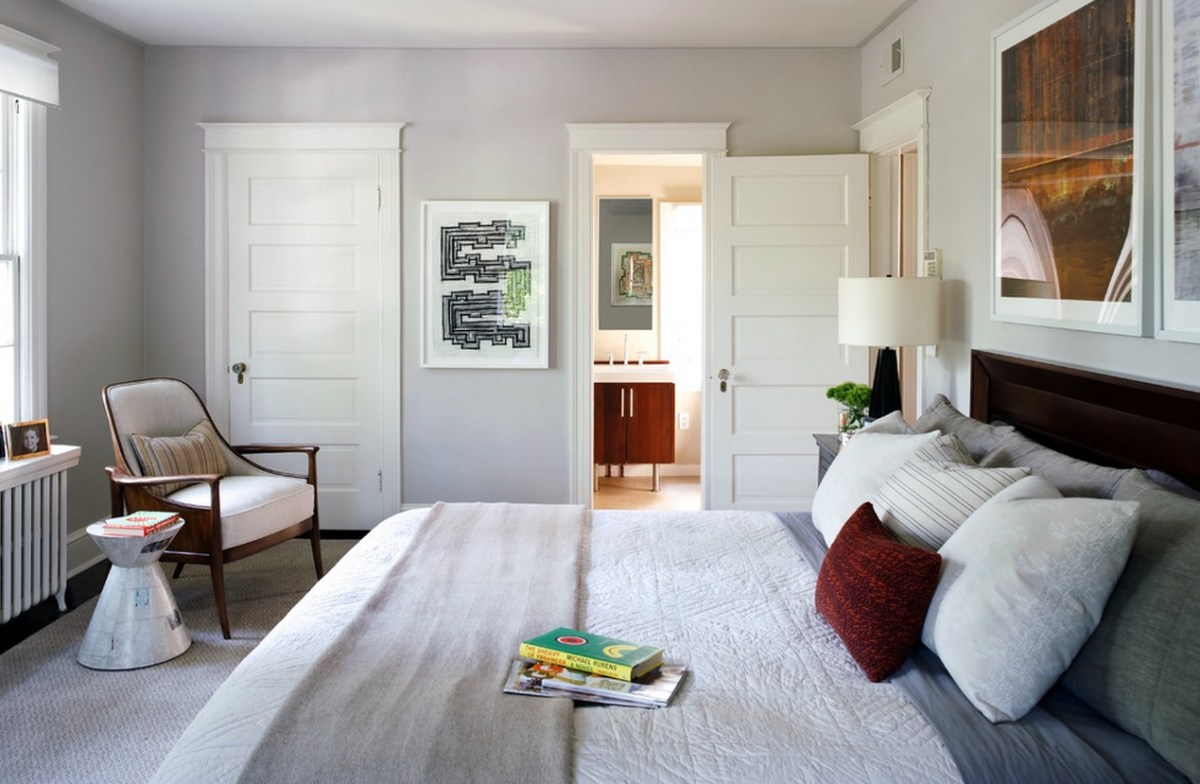 A fantastic home paint colors with soft gray will certainly provide peace for everyone who is in the room