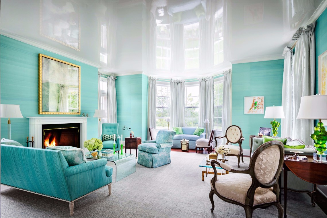 A magnificent home paint colors with green tosca colors that have been famous for a long time even today but their popularity is getting higher nowadays to be used as bedroom paint colors
