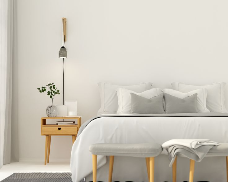 A marvelous home paint colors with gray which makes the eyes move throughout the space and adds more time in the bed