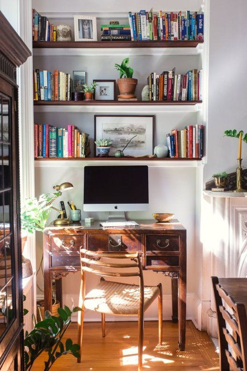 Office built in cabinets