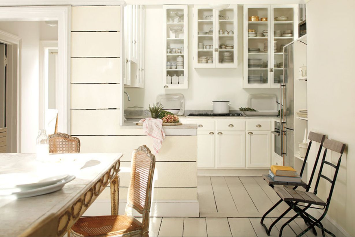 Best off white color in the kitchen ideas to complete