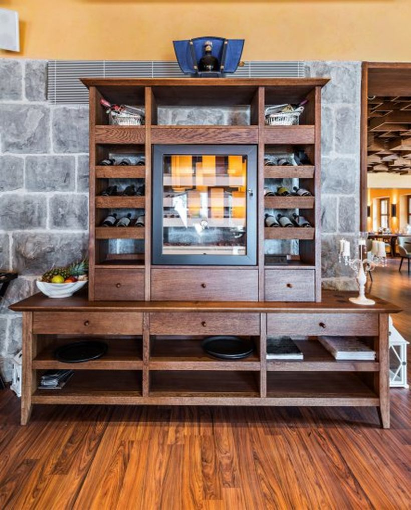Bookcase bar