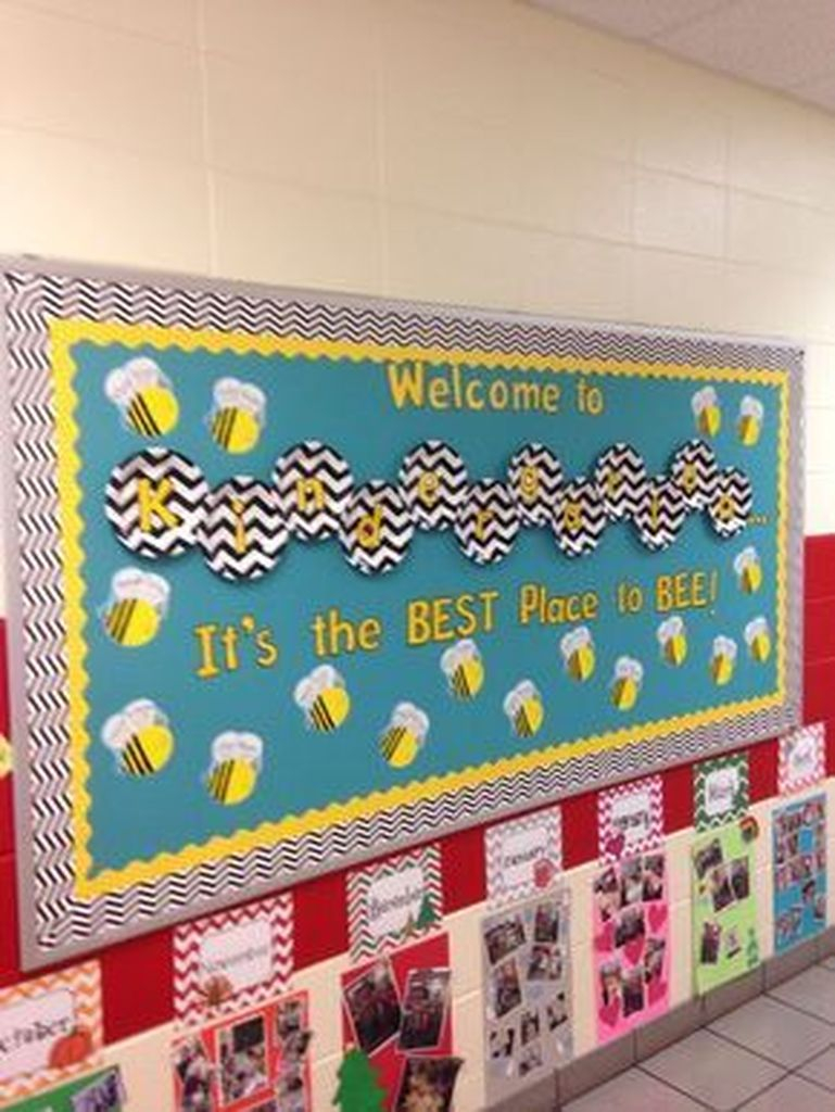 Cute classroom board display
