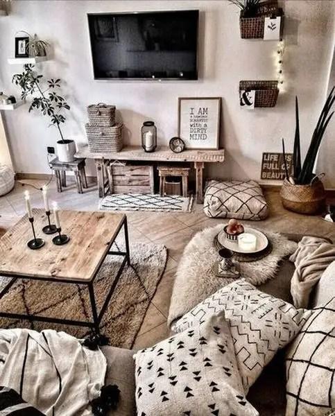 Farmhouse living room design
