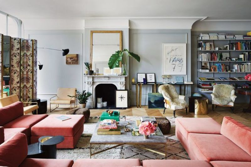Red sofas to perfect your living room