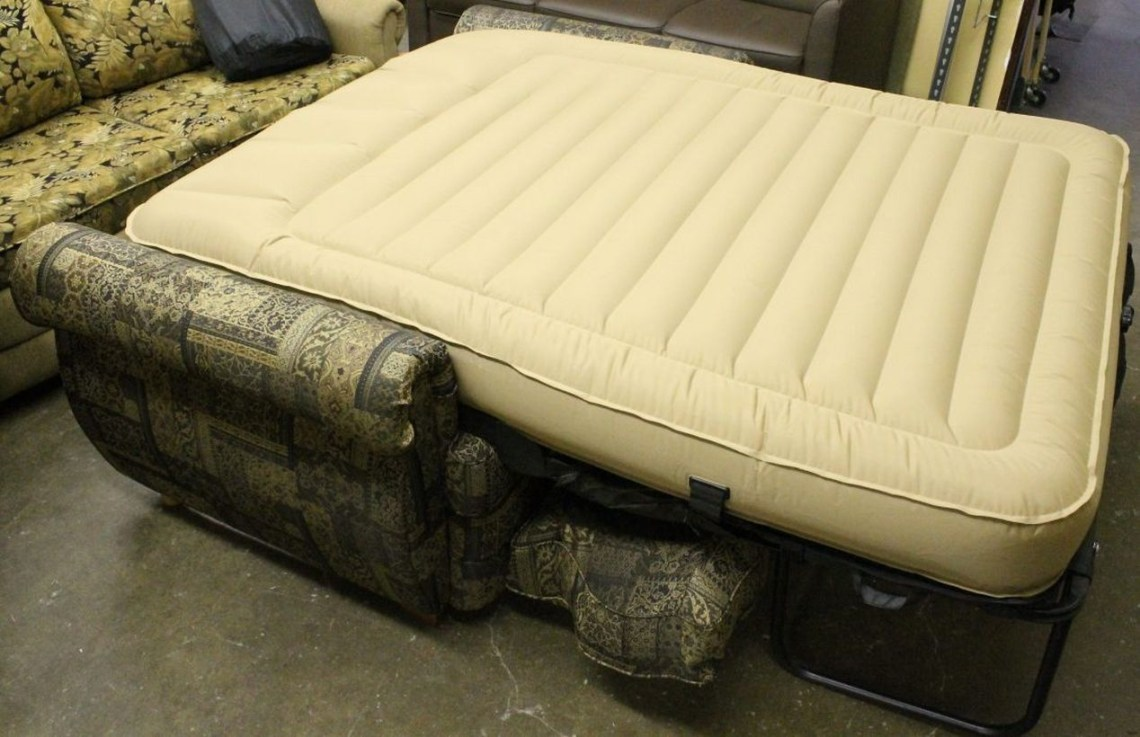 Stunning functional furniture air mattresses with white color to complete your rv