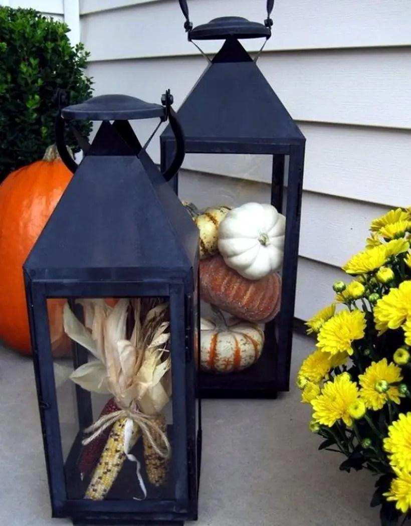 Andles, lanterns and pumpkins