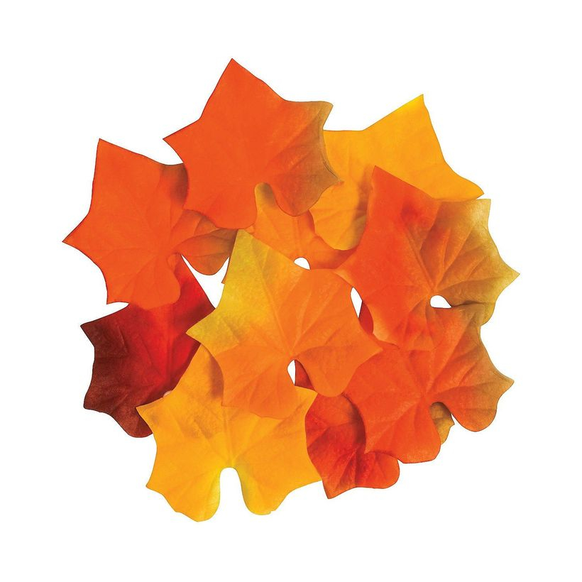 Simple autumn leaves craft