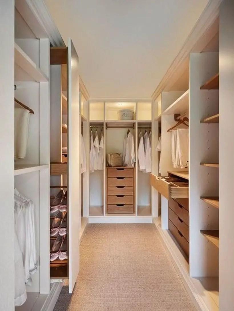 A creative modern wardrobe.