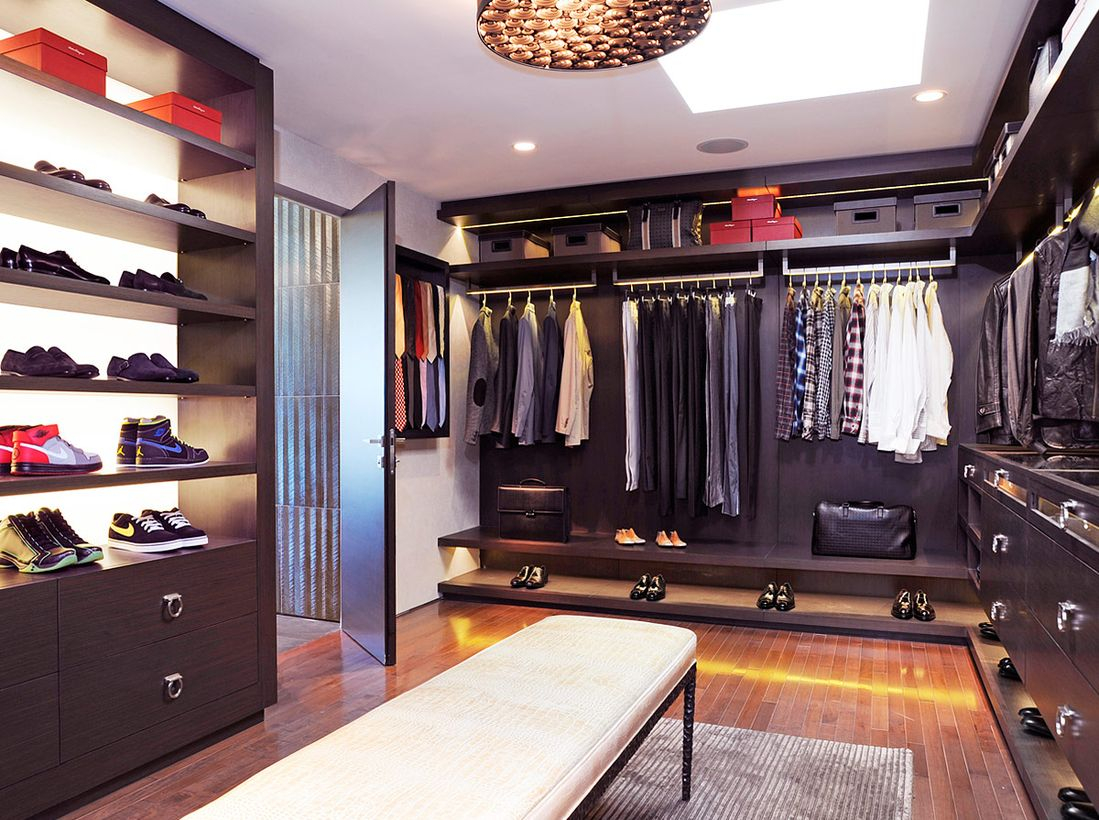 A man-cave for the modern man.