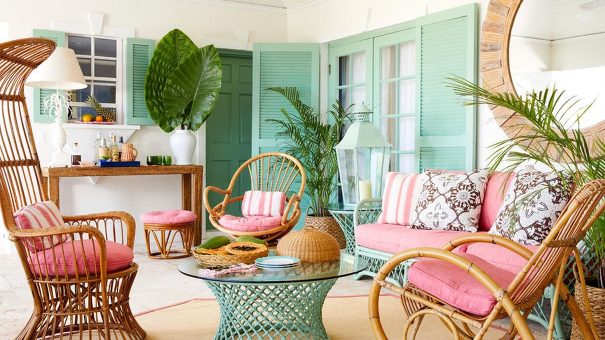 A stunning furniture for bohemian home decoration with bergen rocking chairs is a proportional shaped tub knitted from flat, smooth natural rattan.