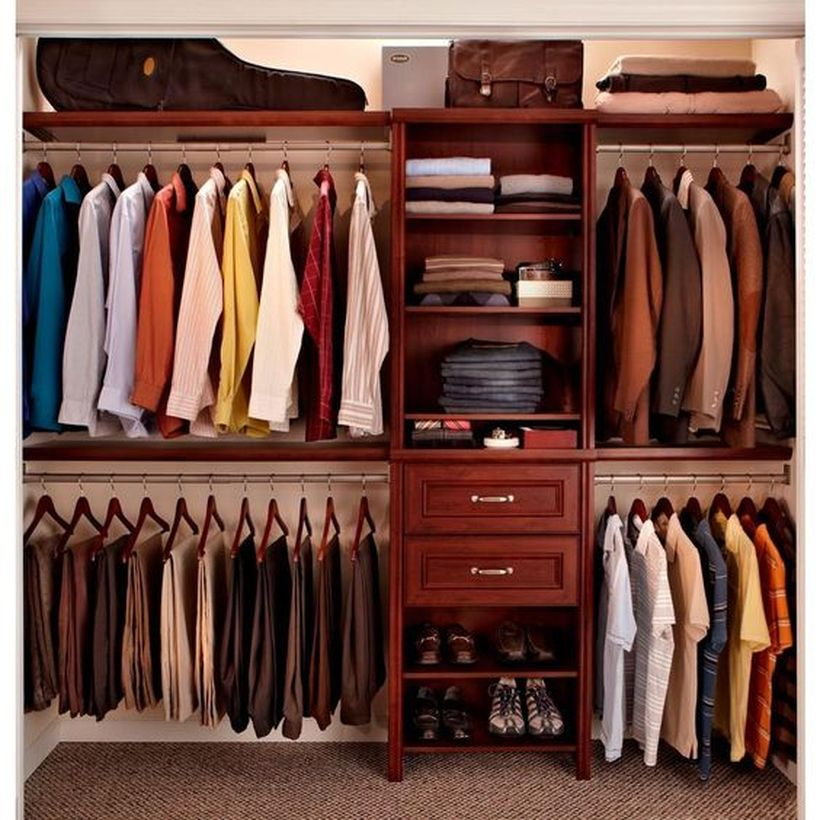 A wonderful inner door wardrobe.