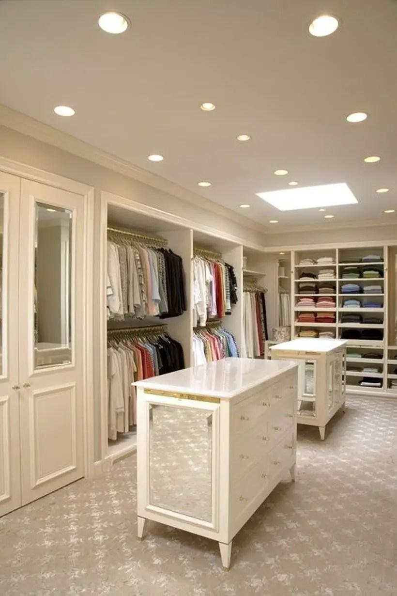An interesting mirrored wardrobe.