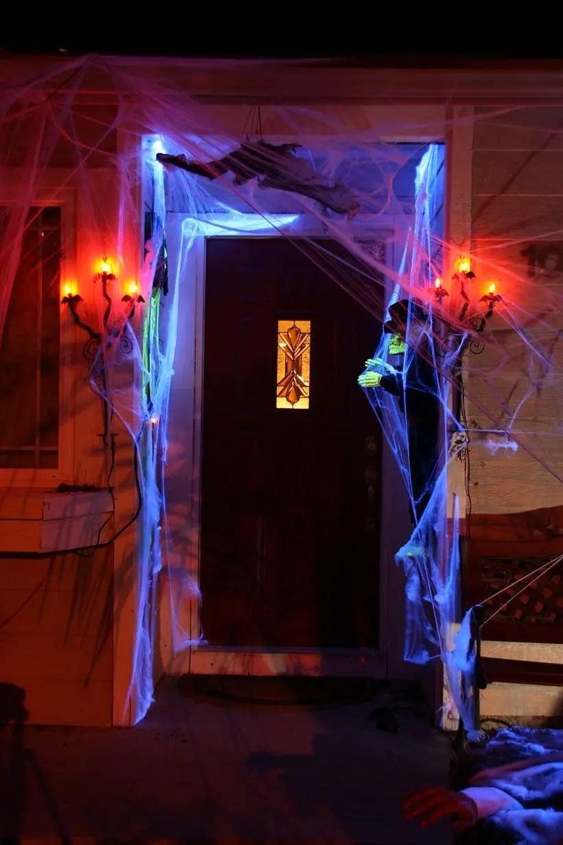Attractive spooky door