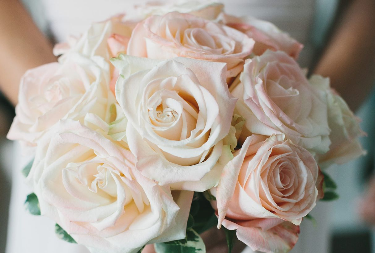 Fancy wedding flower bouquet with ranunculus ideal for the spring, summer or fall wedding