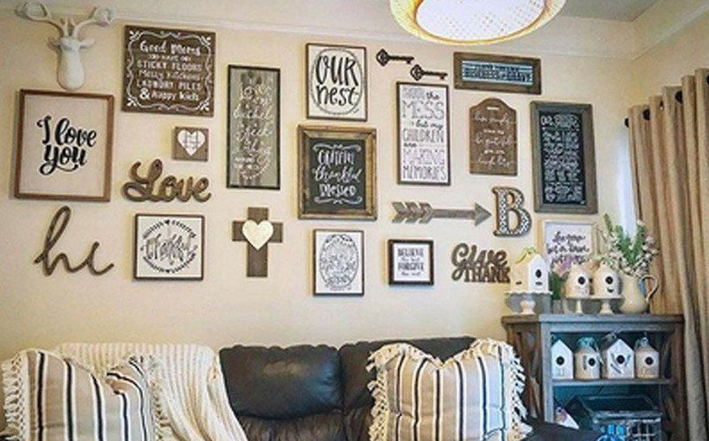 Perfect wall gallery for home