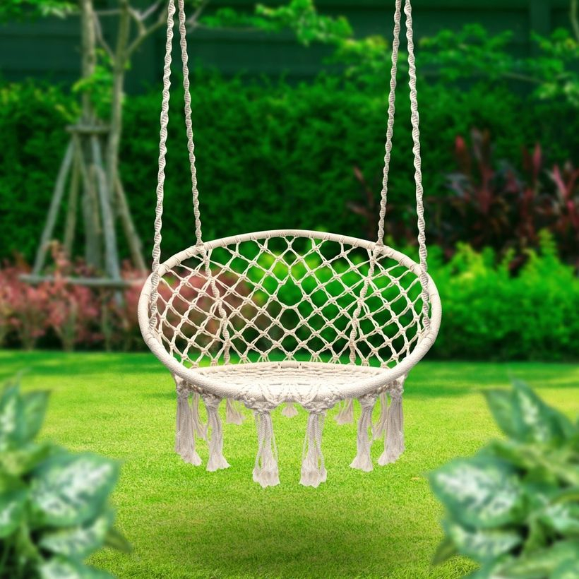 Terorbus hammock chair macrame swing.