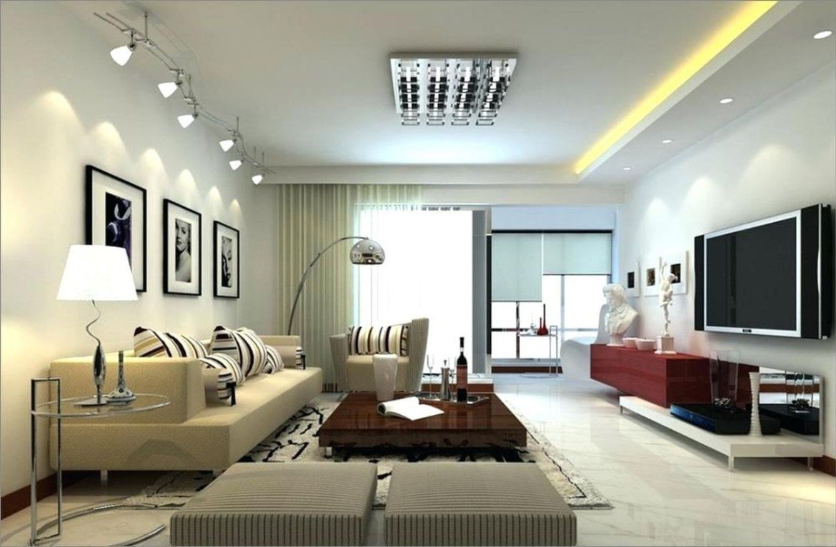 There are no ceiling lights? No problem, you can still create a central light source with arc floor lamps.