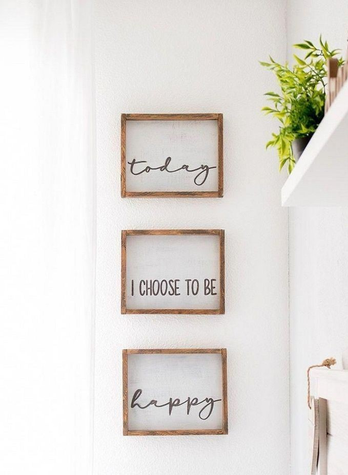 Wooden frame for wall decoration