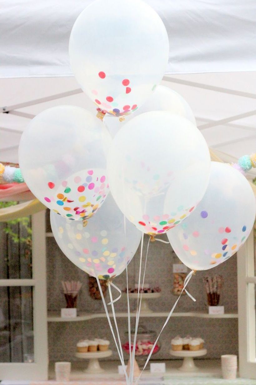 Balloons can be one of the ornaments to decorate your birthday party