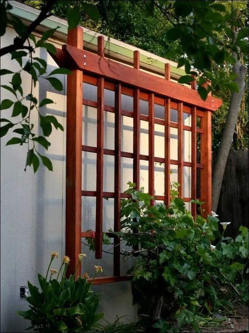 Best wooden trellis for garden